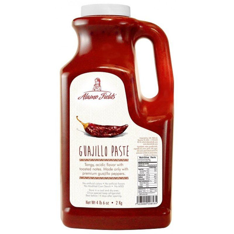 Alamo Fields, Guajillo Paste, 2kg (Plastic Bottle)