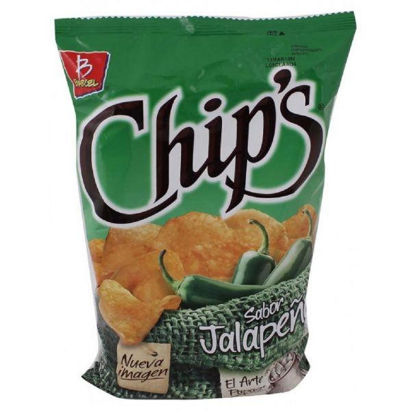 Barcel Chips 170g, Jalapeno