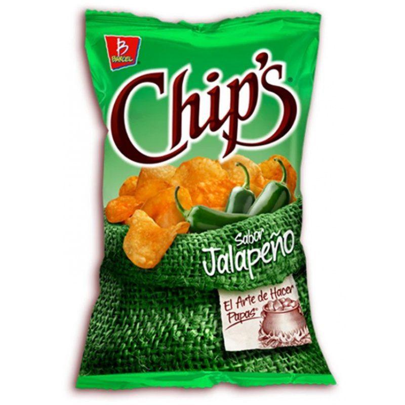 Barcel Chips Jalapeno (Bag) 51g
