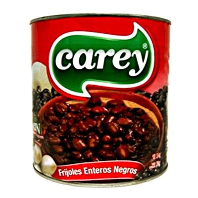 Carey Frijoles Enteros Negros, 3kg (Tin)