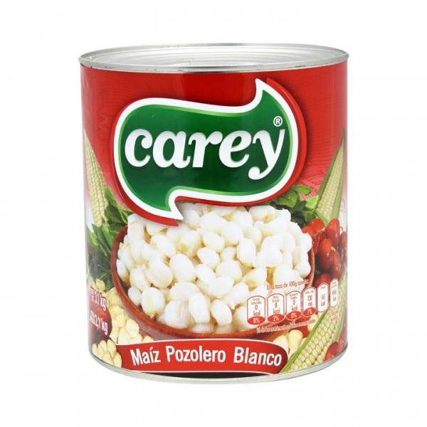 Carey Maiz Pozolero Blanco (Mexican Style Hominy), 3.1 kg (Tin)