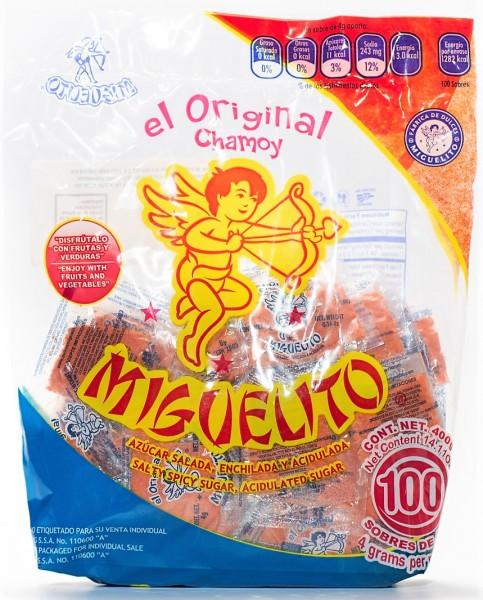 Chamoy Miguelito, 100 Sachets of 4g (Bag)