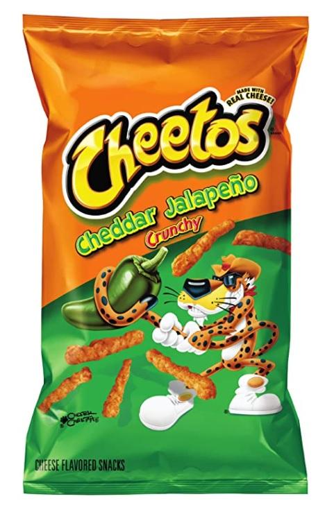 Cheetos Cheddar Jalapeno Crunchy 226g (Big Bag)