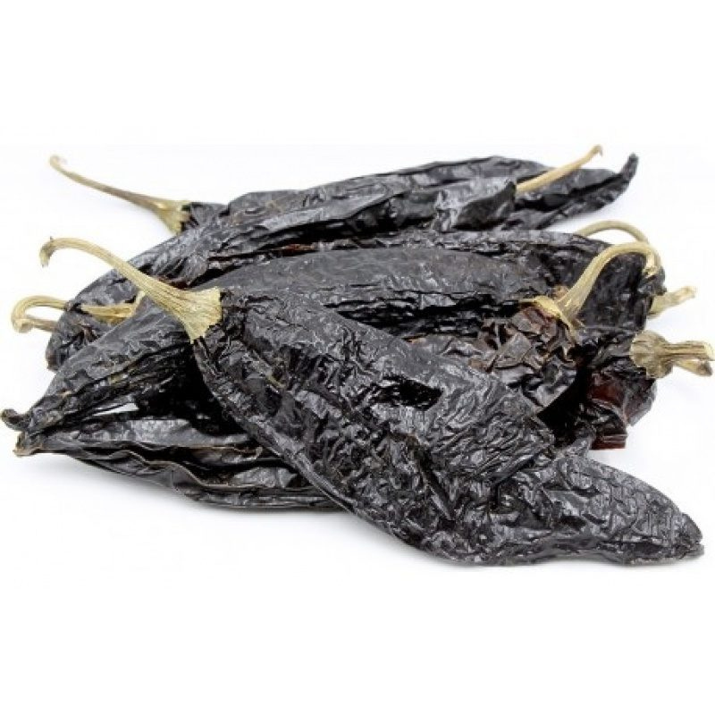 Whole Dried Pasilla Chilli 75g (Paper Bag), [Chile Pasilla, Chili Pasilla]