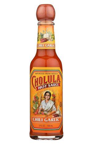 Cholula Hot Sauce, 150ml, Chili Garlic (Glass)