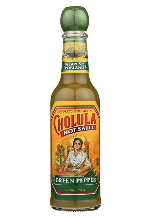 Cholula Hot Sauce, 150ml, Green Pepper (Glass)