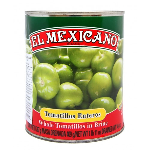 El Mexicano, Tomatillo Entero 767g (Tin) - Whole Green Tomato