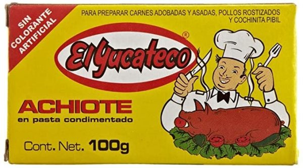 El Yucateco Achiote Paste 100g (Annatto)