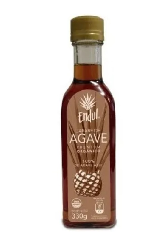 Endul, Jarabe de Agave Organico, 330g (Glass)