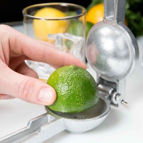 Lime Squeezer, Large, Aluminium (ID=6.2cm)