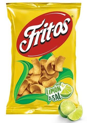 Fritos, Limon y Sal, 57g, Snack (Bag)