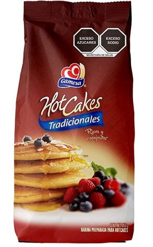 Gamesa Hot Cakes, 500g (Bag)