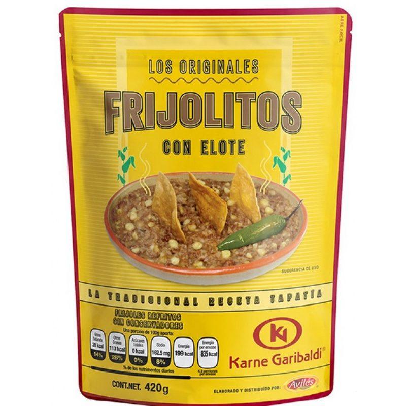 Garibaldi, Refried Beans with Corn, 420g (Pouch)