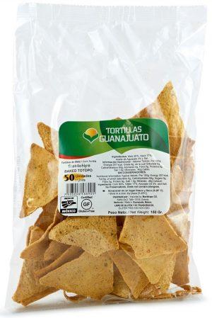 Guanajuato, Tortilla Chips Totopos, 150g (Bag)