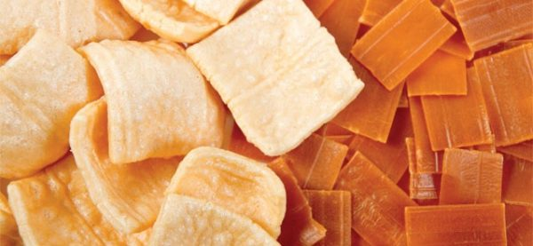 Gustinos Wheat Flour Snack Pellets, Rectangle (Chicharrones de Harina), 227g