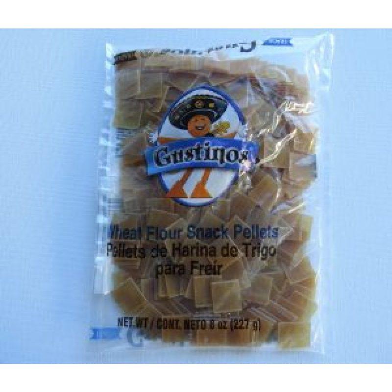 Gustinos Wheat Flour Snack Pellets, Square (Chicharrones de Harina), 227g