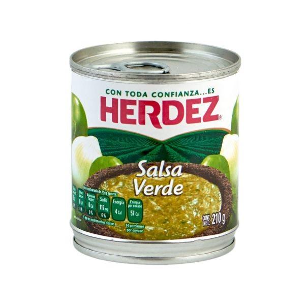 Herdez Salsa Verde 210 g (Tin)