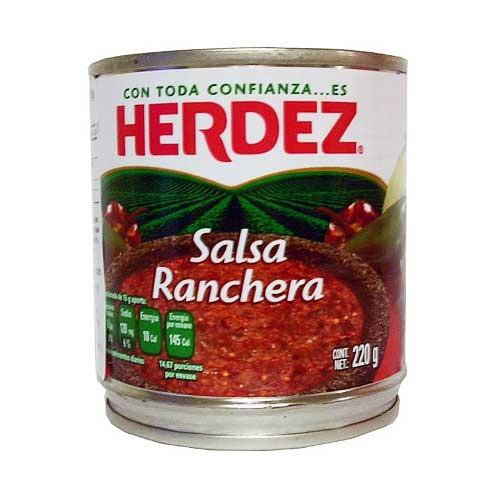 Herdez Salsa Ranchera 220 g (Tin)