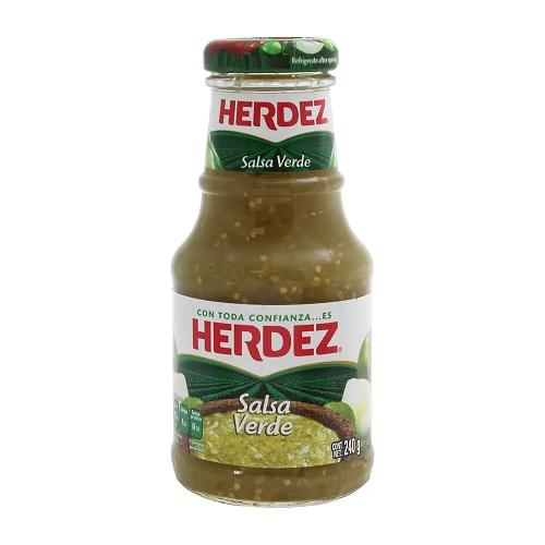 Herdez Salsa Verde 240 g (Glass)