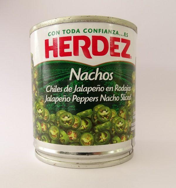 Herdez 200g Jalapeno Nachos (Tin) - No Vinegar