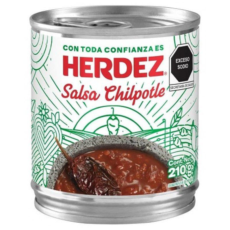 Herdez Salsa Chipotle 210 g (Tin)