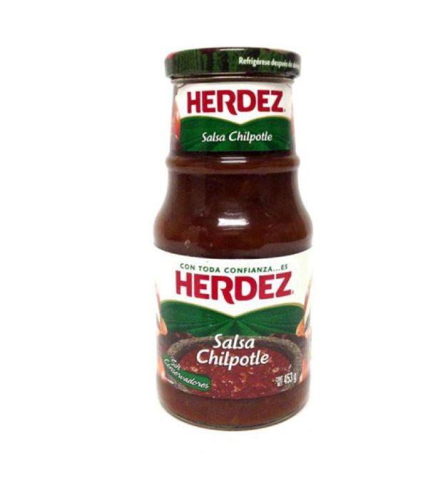 Herdez Salsa Chipotle 453g (Glass)