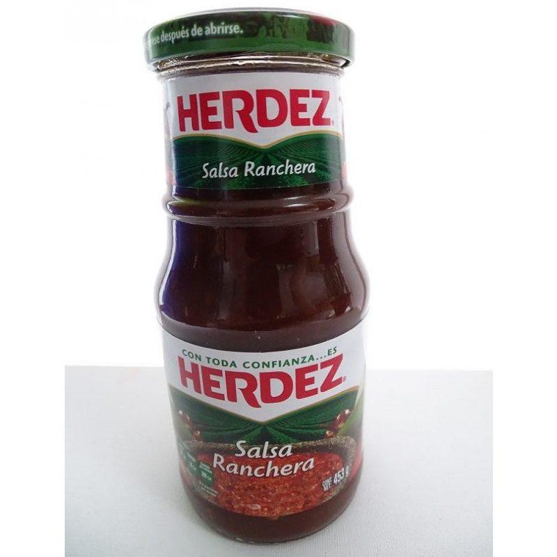 Herdez Salsa Ranchera 453g (Glass)