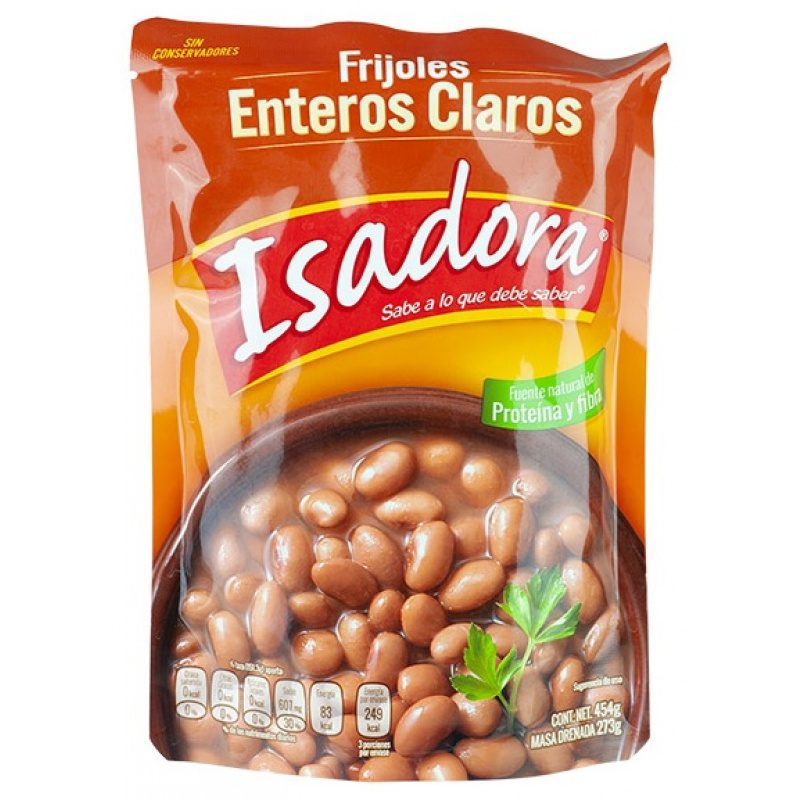 Isadora Clear Whole Beans Pouch 454g