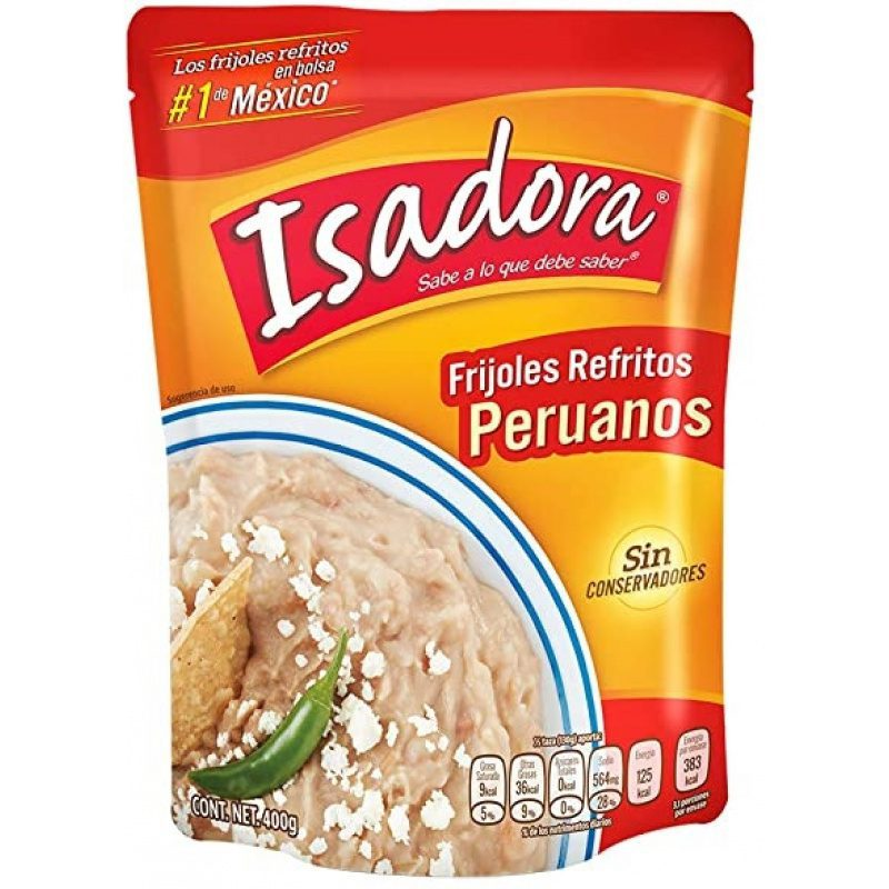 Isadora Frijoles Refritos Peruanos 430g (Pouch)