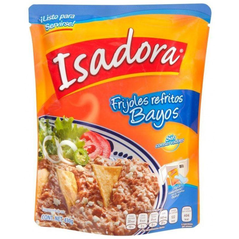 Isadora Frijoles Refritos Bayos 430g (Pouch)