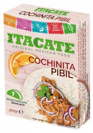 ITACATE, Cochinita Pibil, 300gr (Cooked Pork Meat)