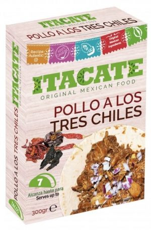 ITACATE, Pollo a los 3 Chiles, 300gr (Chicken Cooked with 3 Chilies)