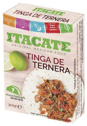 ITACATE, Tinga de Ternera, 300gr (Cooked Beef Meat)