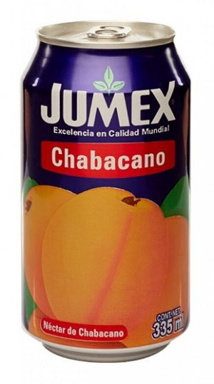 Jumex 335ml Apricot Nectar – Chabacano (Can)