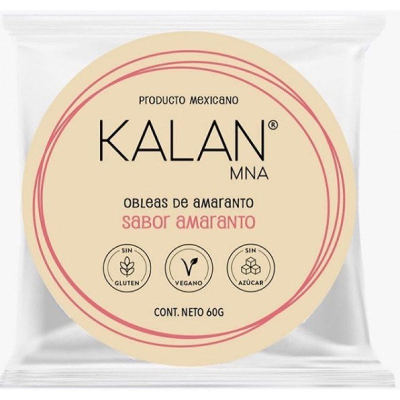 KALAN, Amaranth Wafers, 60g (Diameter 8cm) = OBLEAS