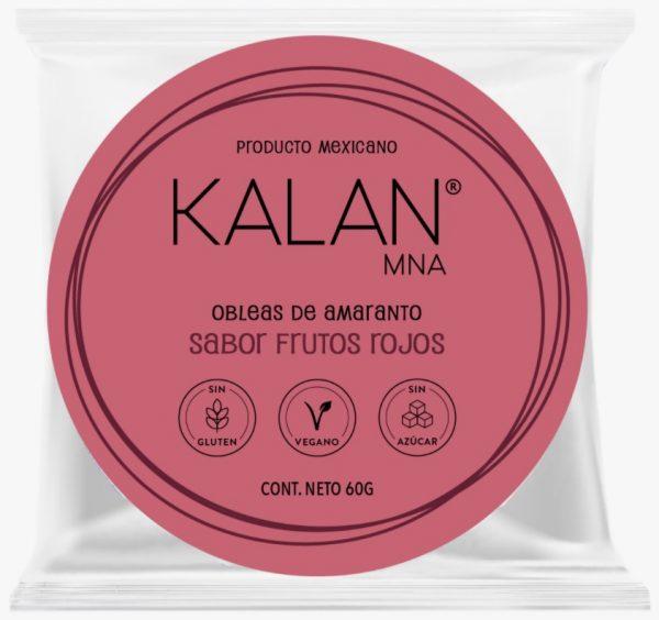 KALAN, Amaranth Wafers, Mixed Berries, 60g (Diameter 8cm) = OBLEAS