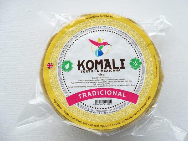 Komali Corn Tortilla 15cm, 1kg