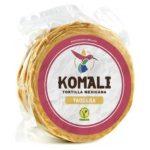 Komali Corn Tortilla 12cm, 500g (Taquera) = 27 Tortillas