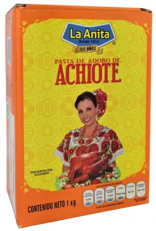 La Anita, Achiote Paste 1kg (Annatto)