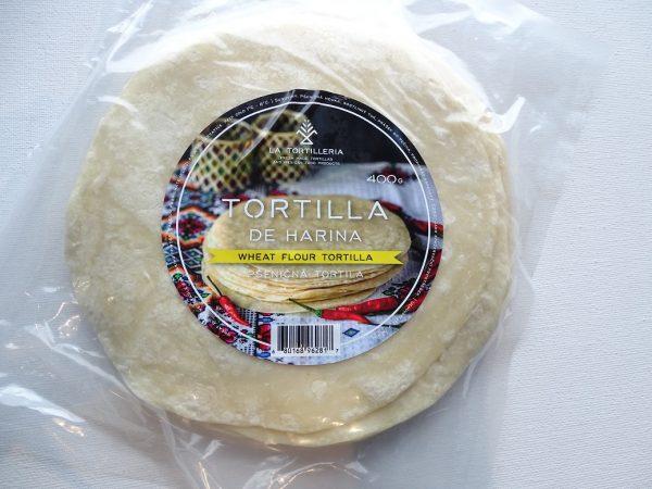 La Tortilleria, Flour Tortilla 15cm, 10pcs , 340g