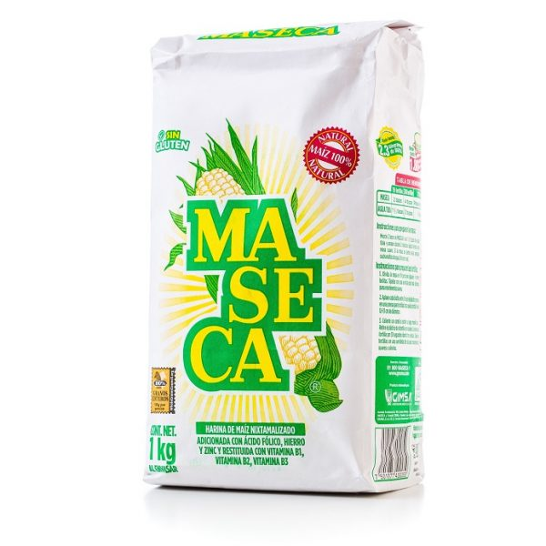 MASECA 1 kg, Harina Regular (Maseca Flour)