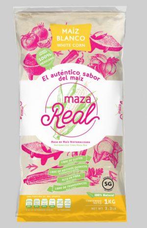 Maza Real, White, 1kg Bag (Similar to Maseca)