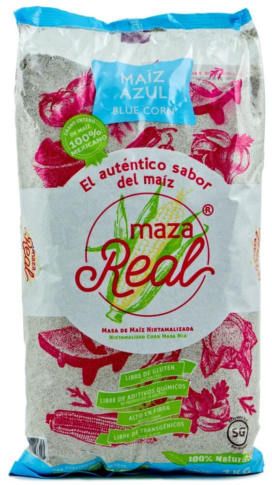Maza Real (Blue), 1kg Bag (Similar to Maseca)