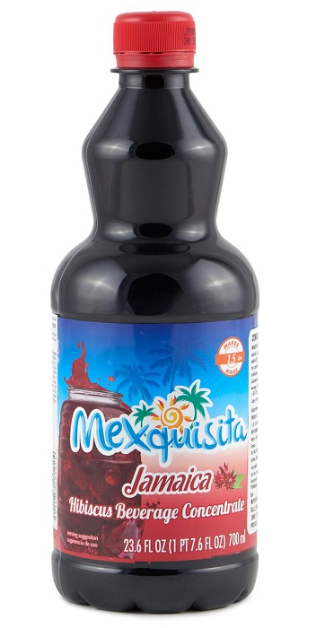 Mexquisita Jamaica 700ml (Hibiscus Syrup, to make approx. 5.7 lts)