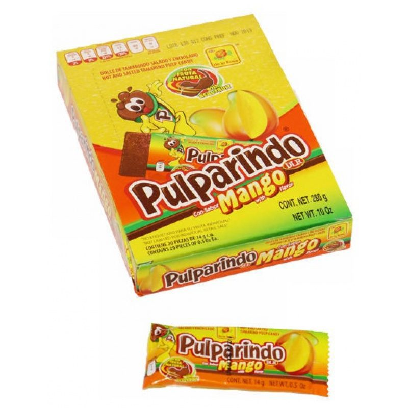 Pulparindo Mango (Box) 20 x 14g each