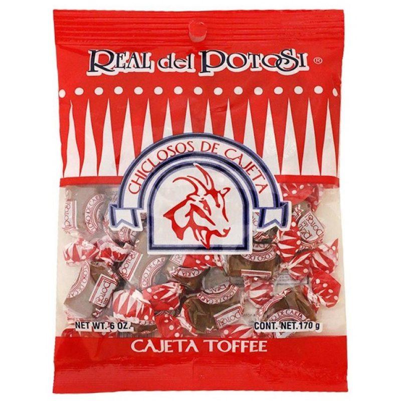 Real del Potosi, Chiclosos de Cajeta, 170g (Toffee)