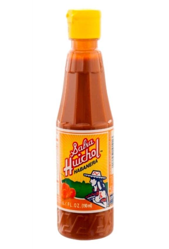 Salsa Huichol 190ml, Habanera (plastic bottle)