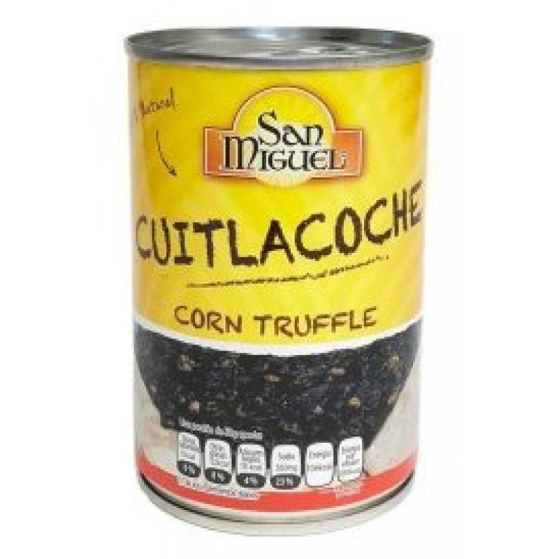 San Miguel Cuitlacoche 420g (Tin) - Corn Truffle
