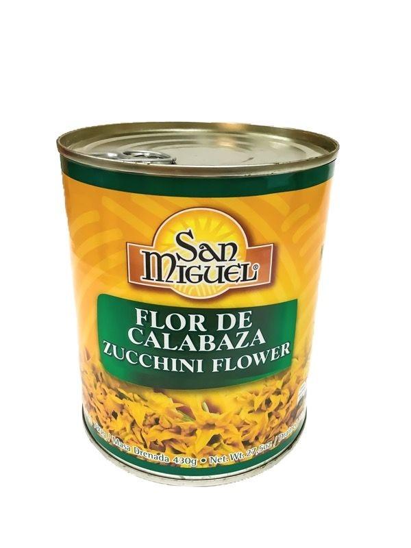 San Miguel Flor de Calabaza 215g (Tin) - Zucchini Flower