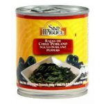 San Miguel Sliced Poblano Peppers (220g)